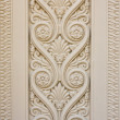 Thai style desing craft concrete wall — 图库照片 #6380592