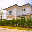 Thai modern style house — Stock Photo