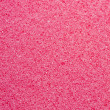 Pink sponge texture close up — Photo