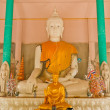 White Buddhstatue — Stock Photo #6384173