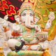 Stock Photo: White ganesh statue