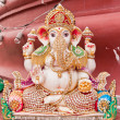 White ganesh statue — Stock Photo #6384846