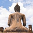 Back of Buddha statue — Foto Stock