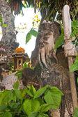 Estatua del estilo chino guerrero en jardín — Foto de Stock