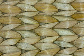 Thai wooden wicker pattern close up — Stock Photo