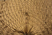 Thai wooden curve wicker pattern — Foto Stock