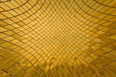 Golden tile pattern blast out — Stock Photo