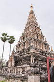 Square shaped pagoda in Chiang Mai — Stock Photo
