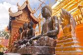Gouden boeddha verschillende vormen anderen — Stockfoto