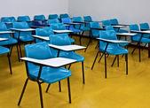 Empty room wth many armchairs — Stock Photo