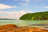 Beautiful rock beach on Koh Samed — Stock Photo