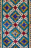 Thai pattern tile wall — Stock Photo