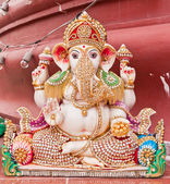 White ganesh statue — Stock Photo
