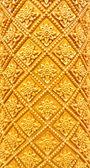 Golden Thai pattern pillar — Stock Photo
