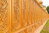 Golden Thai pattern tilted out — Stock Photo