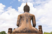 Back of Buddha statue — Stock Photo
