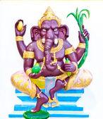Ganesha púrpura con verduras — Foto de Stock