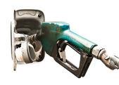 分離された石油の給油 — ストック写真