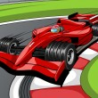 Royalty-Free Stock Vector Image: Car formula 1