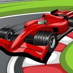 Car formula 1 — Stock Vector