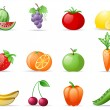 Fruit and Vegetables — Stock Vector #5660199