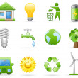 Environment icon set — Stock Vector #5660257