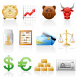 Finance icon set. — Stock Vector #5666555