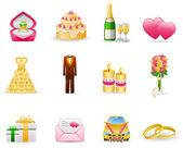 Wedding (Marriage) — Stock Vector