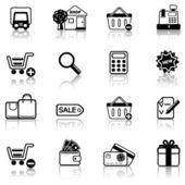 Shopping 2 — Stock Vector