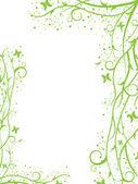 Green border — Stock Vector