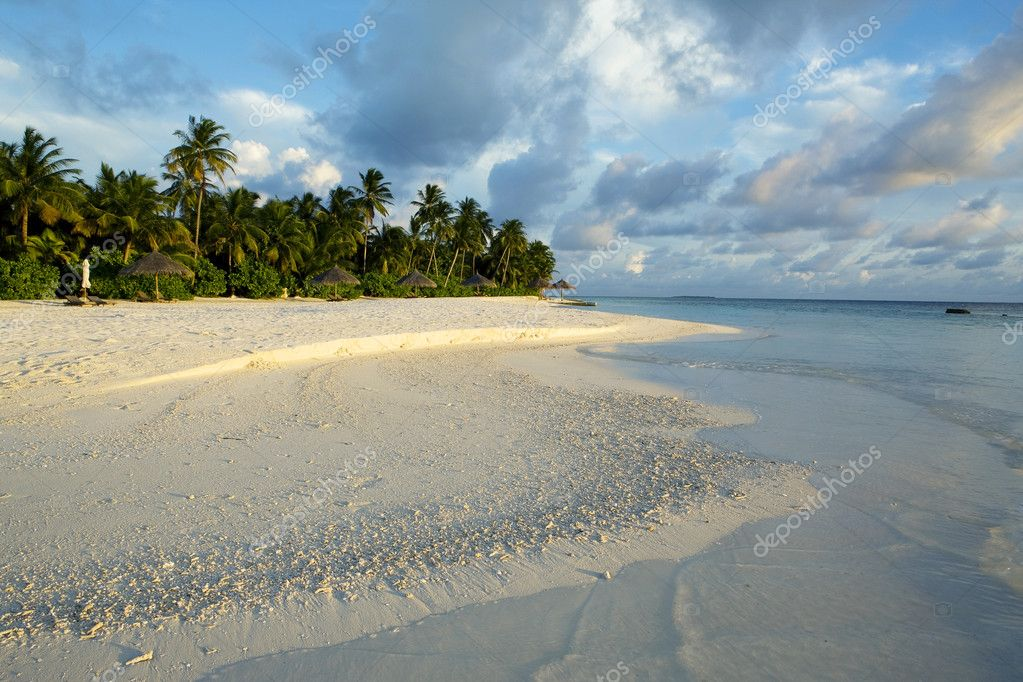 Maldives island. Indian ocean.  — Stock Photo #5694960