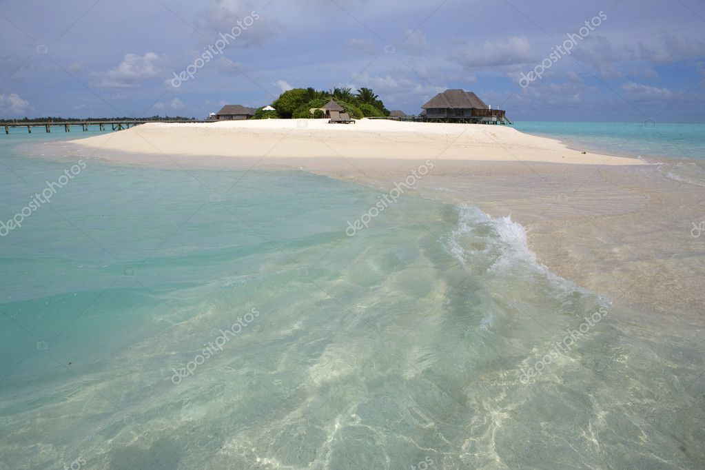 Maldives island. Indian ocean.  — Stock Photo #5694964