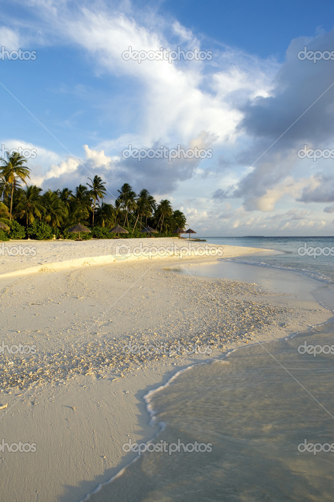 Maldives island. Indian ocean.  — Stock Photo #5694976