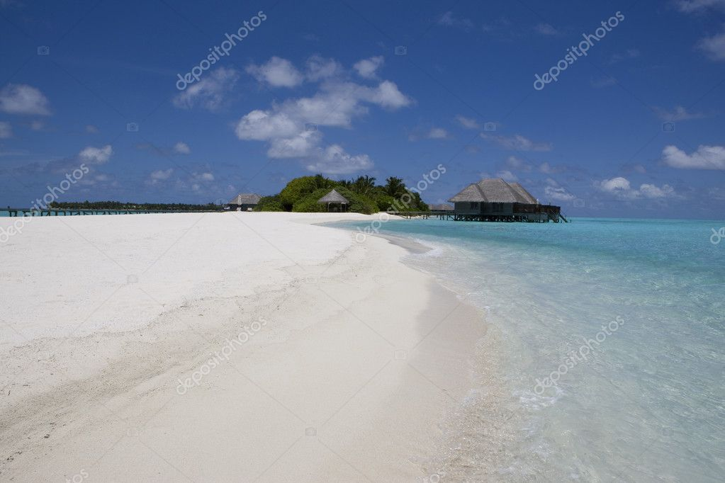Maldives island. Indian ocean.  — Stock Photo #5694992