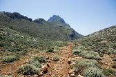 Montanha de Creta. — Fotografia Stock