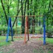 Landscape with children seesaw — Stock Photo #6409042