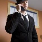 Trendy business man — Stock Photo #5852132