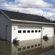 Foto Stock: Flooded Garage