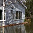 Flooded Home — Stock Photo #5852197