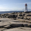 Peggy's Cove Lighthouse — Stock Photo
