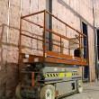 Industrial mobile scaffold - Stok fotoğraf