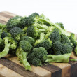 Chopped up broccoli — Stock Photo