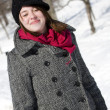 Portrait of girl with scarf — Stock Photo #5852698