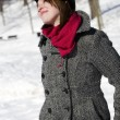 Portrait of girl with scarf — Stock Photo #5852699