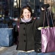 Woman with shopping bags — Stock Photo #5852727