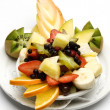 Assorted fruit in a bowl — Stock Photo