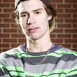 Young skateboarder portrait — Stock Photo