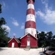 Asateaque Lighthouse - Stock Photo
