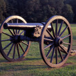 Manassas Valley Cannon - Stock Photo