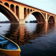 Stock Photo: Georgetown Bridge